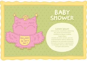 Gratis Baby Shower Vector