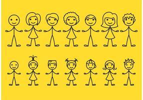 Stick Figure Icons