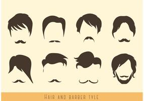 Hair-and-mustache-vectors
