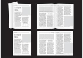 Layout Minimal Magazine