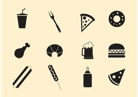 Fast Food Vektoren