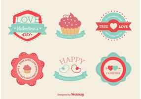 Love and Valentine Vector Labels