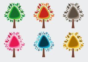 Seizoensgebonden bomen
