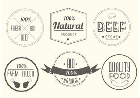 Free-vector-meat-labels