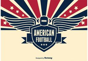 American Football Vector Illustration