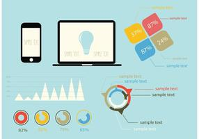 Free vector infographic design elements