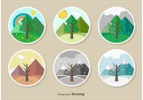 Seasons illustration