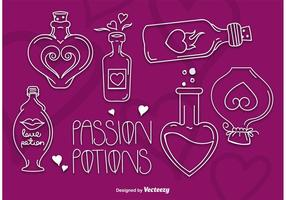 Love Potions vector