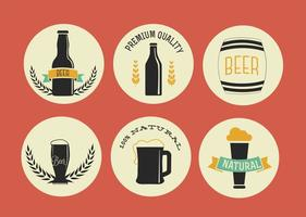 Free Vector Beer Labels