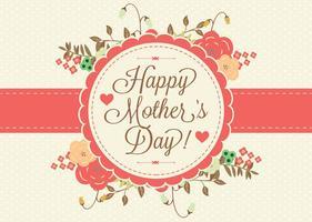 Mother's Day Floral Illustration