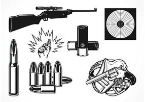 Free vector shooting set
