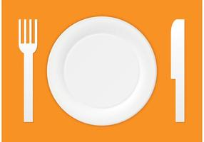 Vector Paper Plate