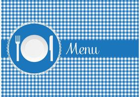 Free-menu-card-with-paper-plate-vector