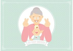 Free Funny Grandma Vector