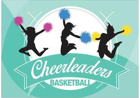 Cheerleding Backgrounds Vector