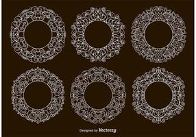 Victorian Circular Frames