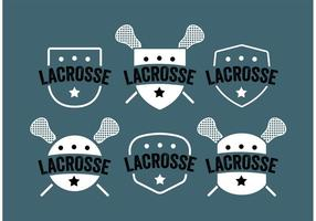 Lacrosse Label Vector Set