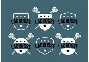 Lacrosse Label Vector Set
