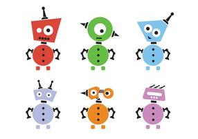 Menschliche Robotervektoren