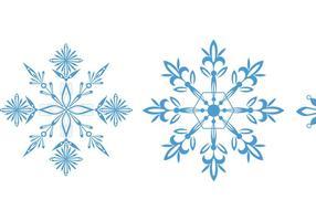 Vetores de floco de neve