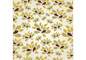 Modern Seamless Floral Background