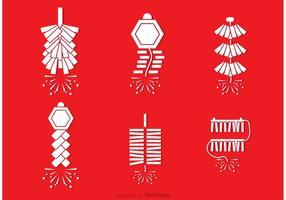 Chinesische Feuerwerksvektoren