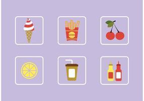 Lebensmittel Vektoren