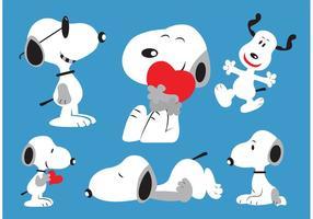 Vecteurs Snoopy