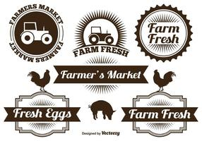 Étiquettes agricoles