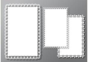 Square Doily Vectoren