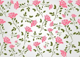 Seamless Floral Vector Background