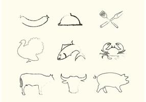 Sketchy-animal-vectors