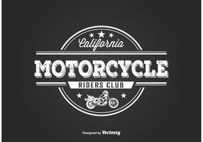 Conception de t-shirt de club de moto
