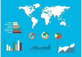 Éléments infographiques vectoriels