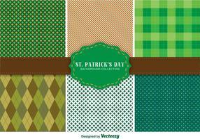 St. Patrick's Day Pattern Set