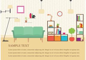 Vecteurs de meubles modernes