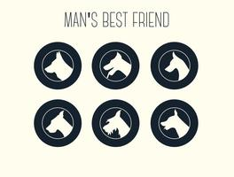 Free-vector-dog-silhouettes