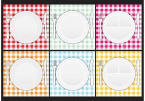 Paper Plate Vectors