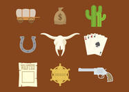 Western Vector Icons