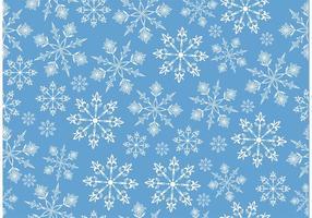 Fondo del vector del copo de nieve