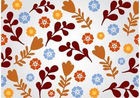 Naadloze Floral Vector Achtergrond