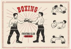 Old Time Boxing Vectors