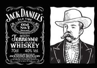 Jack Daniels Vector Label