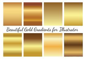 Gold Vector Gradients