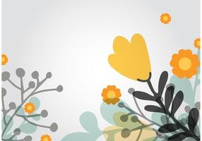 Vectoriel de fond floral