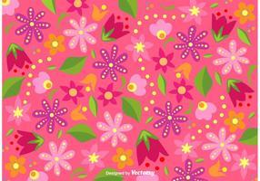 Helle Blumen Hintergrund Vektor