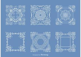 Libre Square Doily Vector Pack