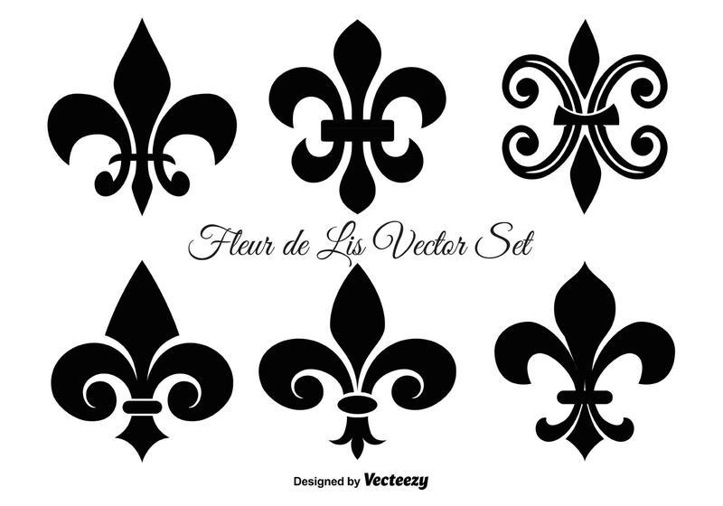 Fleur De Lis Vector Shapes Download Free Vectors Clipart Graphics Vector Art
