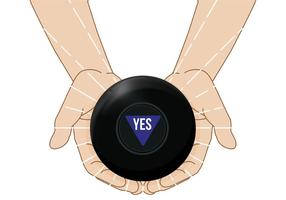Magic 8 Ball Vektor