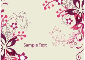 Fond d'écran floral de printemps